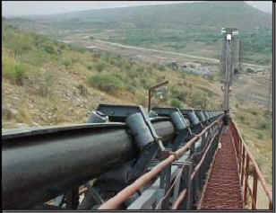 Pipe Conveyors And Their Application In The Cement Industry